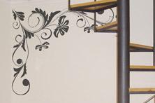 Corner Flower Design