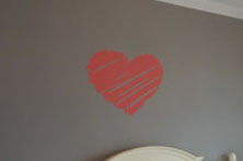 Heart Wall Sticker