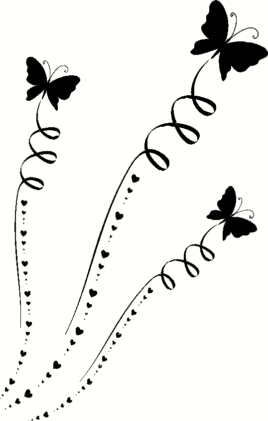 Flying Butterflies Wall Decal